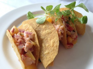 Lobster tacos, brunch at Lineage in Brookline, MA
