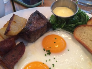 Brunch Wagyu Steak & Eggs from Puritan & Co in Inman Square