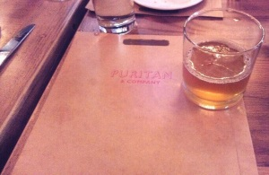 Brunch at Puritan & Co